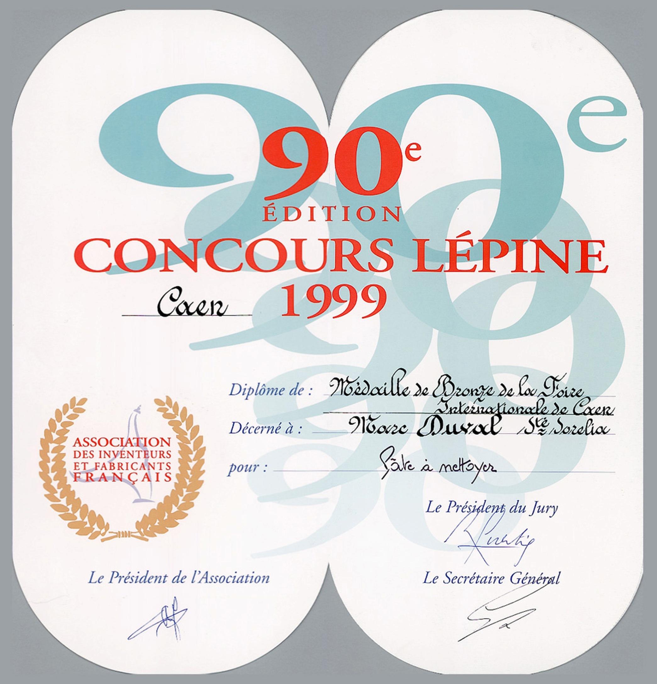 Concours Lépine Caen Bio-Sorélia