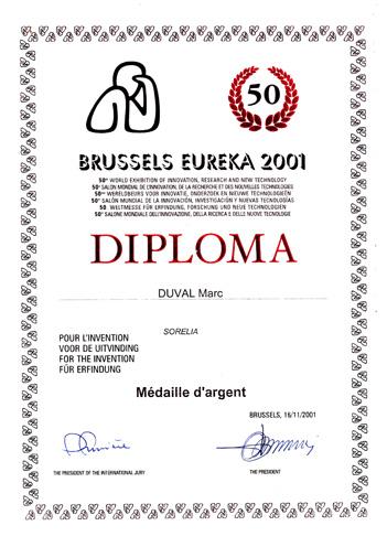 La pierre d'argile décroche l'Argent à Euréka Bruxelles